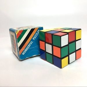 Vintage Rubix Cube Rubiks 1980s